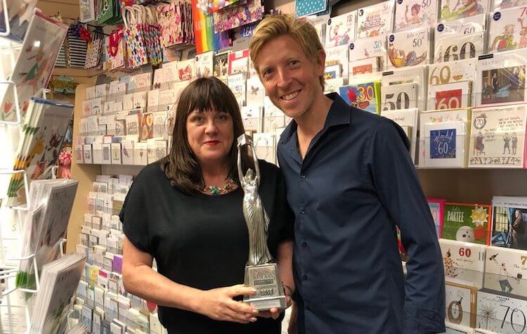 Best Independent Bookstore Retailer of Greetings Cards 2018