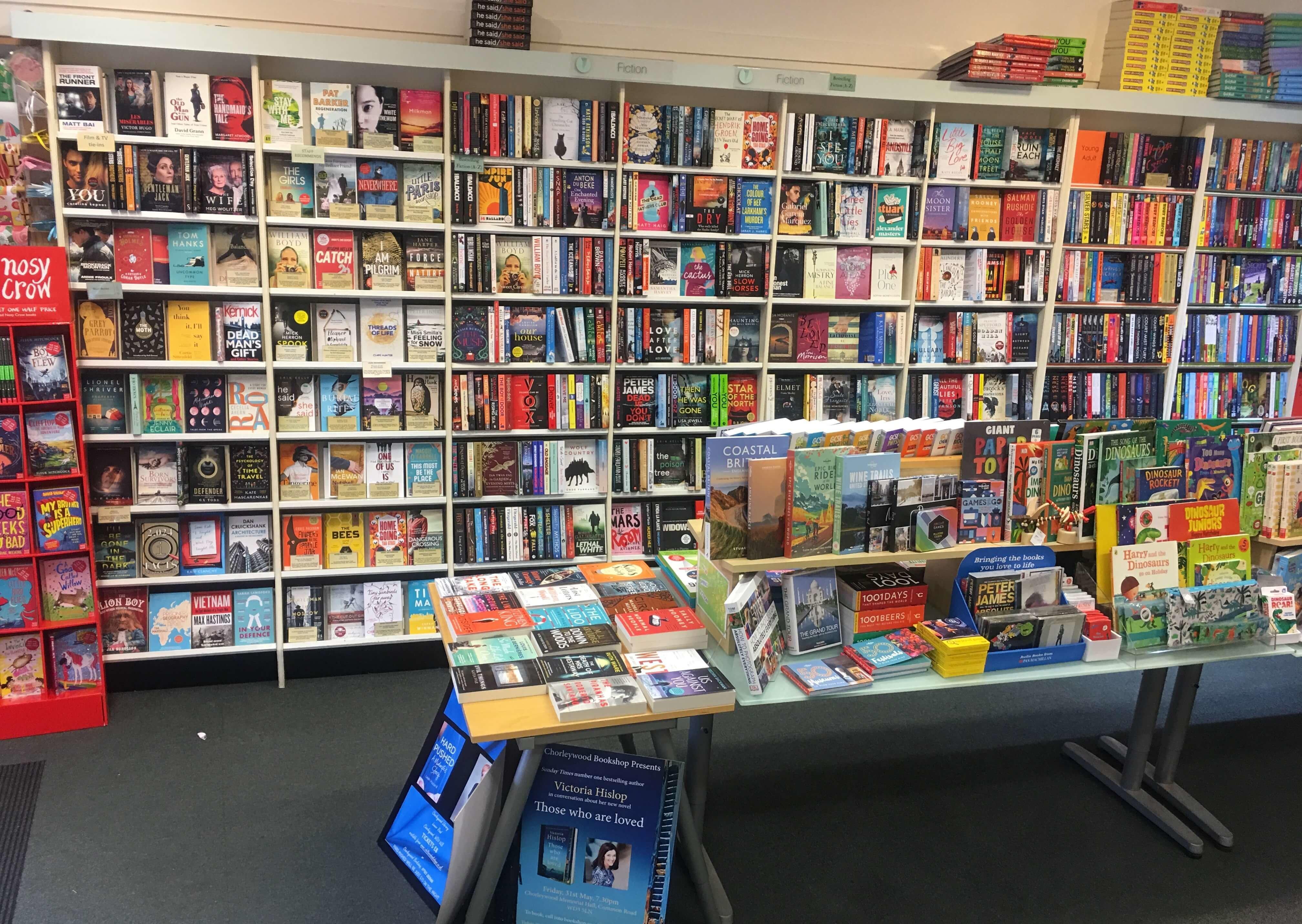 bookshop chorleywood bookshops sheryl forty owned around been